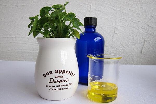 手作りリップ 植物油