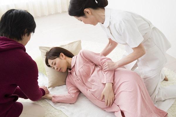 産後の腰痛:分娩時の影響