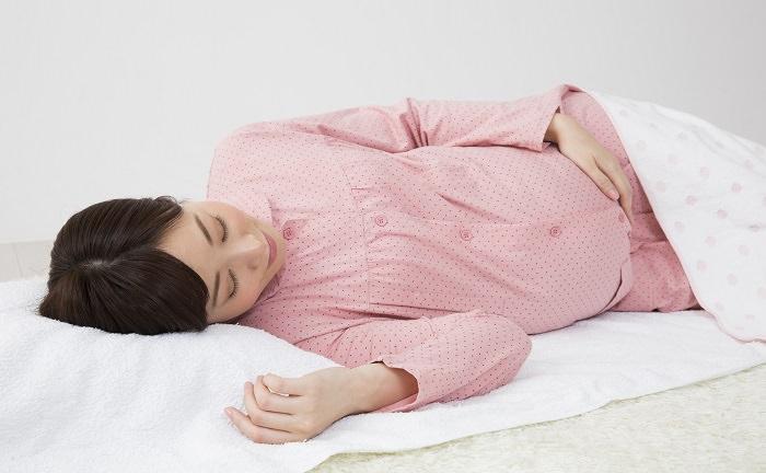 妊娠後期の吐き気