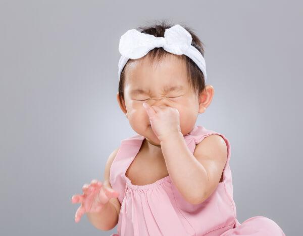 赤ちゃん鼻づまり原因