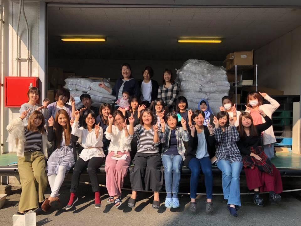 ハーブティーの原料が2ヶ月かけてミャンマーの自社農園から日本へ