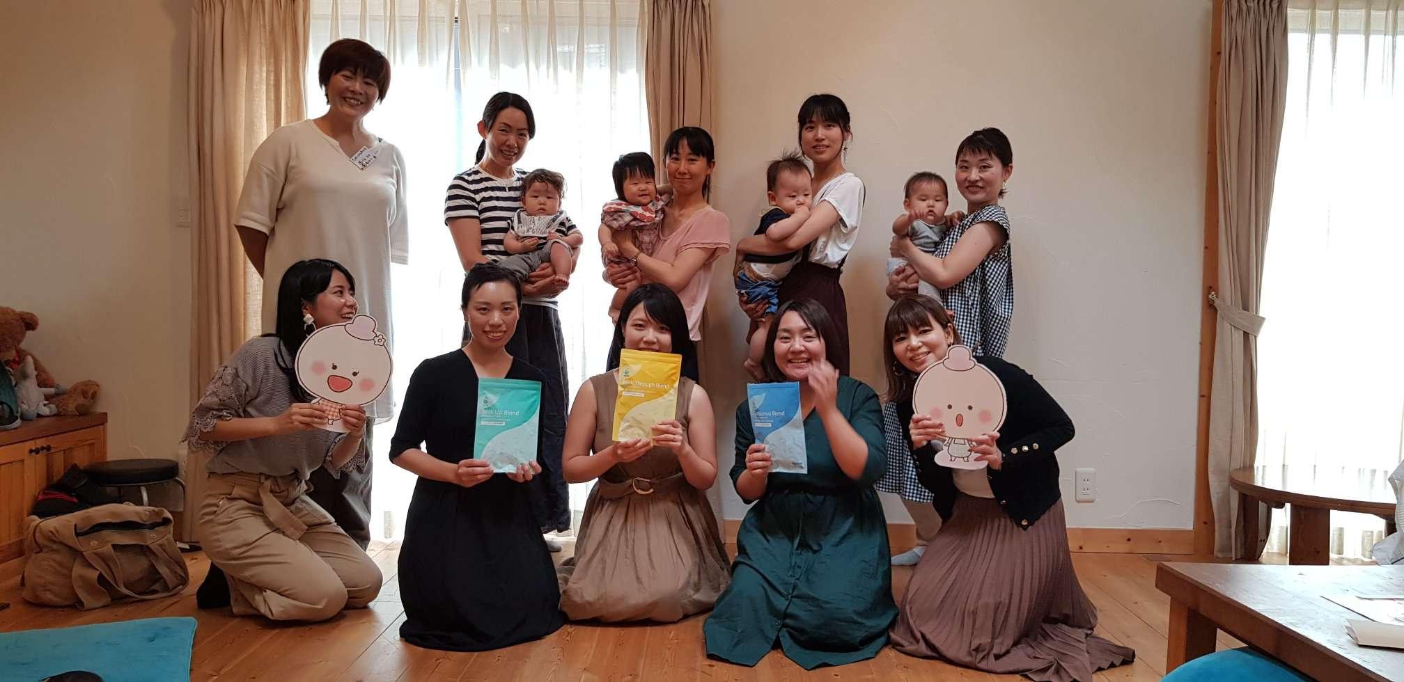 第2回授乳期ママ限定 AMOMAファンミーティングを開催しました
