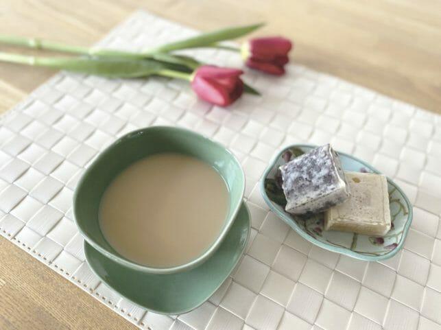 【今月のアレンジTEA】たんぽぽ豆乳ラテ